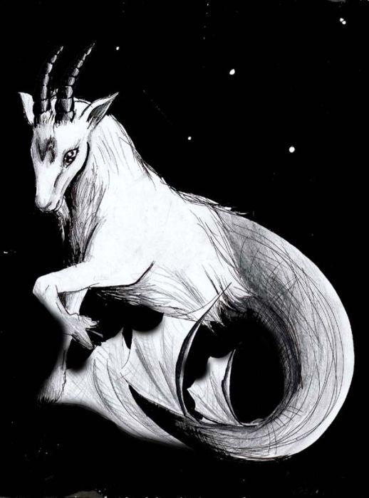 Click pic   s to enlargeCapricorn Goat Art